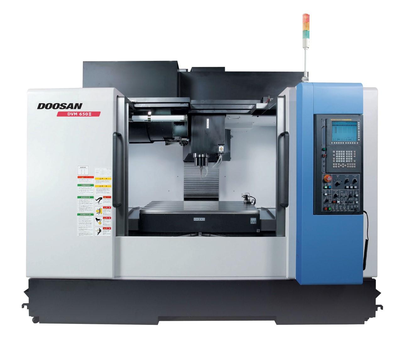 Doosan DVM 500 II, 650 II