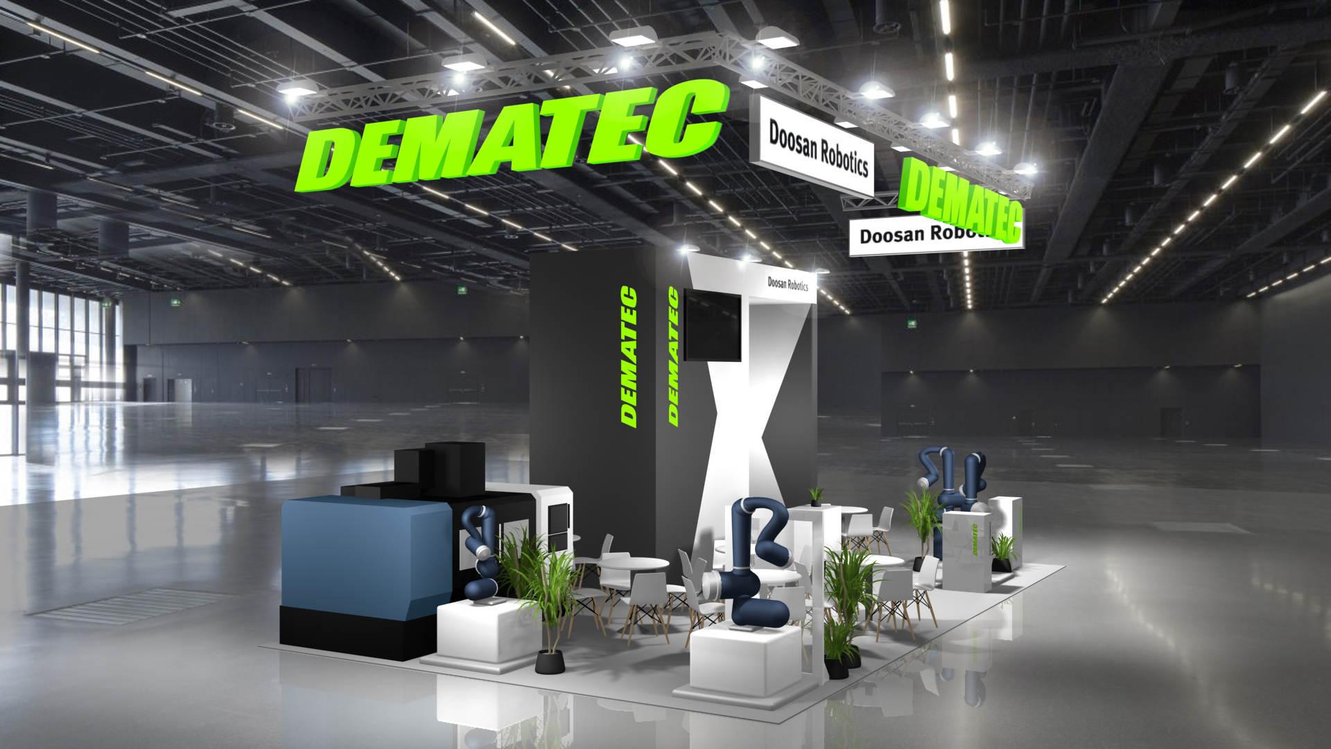Stoisko Dematec na targach ITM 2021